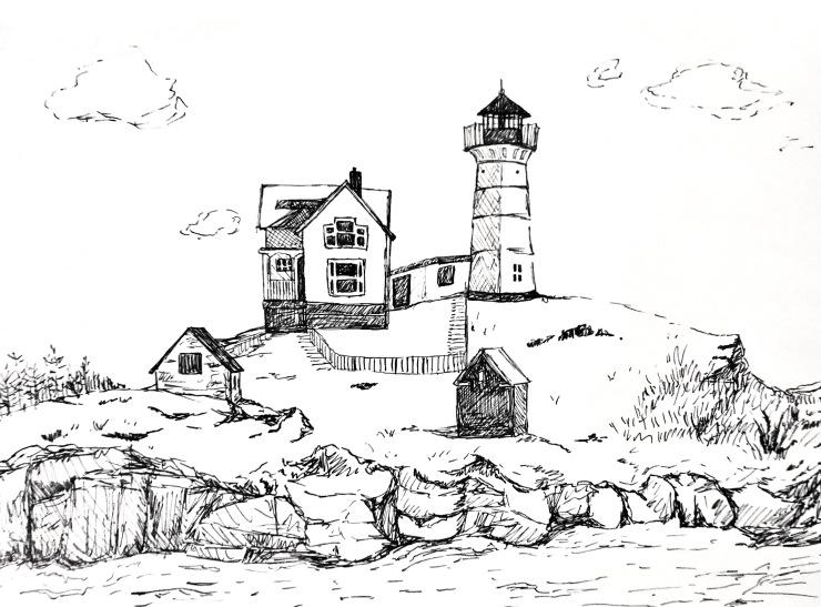 Light and Dark- March Illustration (2)